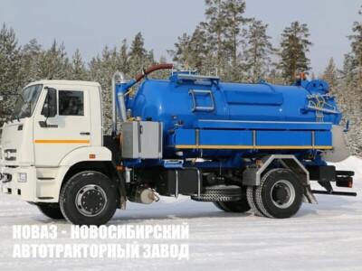 Илососная машина МВС-10 на базе КАМАЗ 53605-48