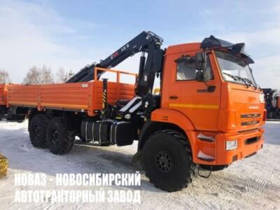 Бортовой КАМАЗ 43118 с КМУ HIAB X-CL 16B-3