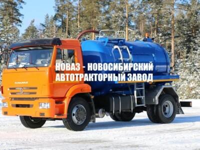 МВ-8 НА ШАССИ КАМАЗ 43253-3010-69 ВАКУУМНАЯ