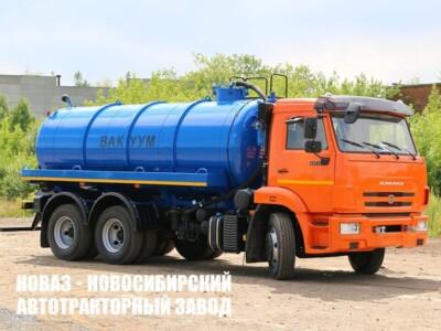 ВАКУУМНАЯ МАШИНА МВ-12 НА ШАССИ КАМАЗ-65115 (МОДЕЛЬ 4680А3-40)