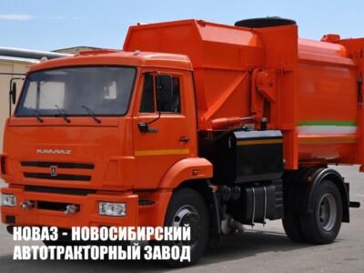 МК-4554-04 НА ШАССИ КАМАЗ-43255-3010-69 МУСОРОВОЗ (МАЯТНИК. ПЛИТА)