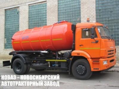 Вакуумная машина КО-529-13 на шасси КАМАЗ 43253 (ЕВРО 5) новый