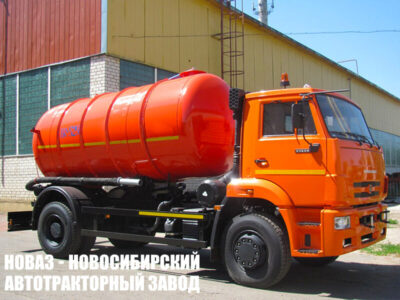Вакуумная машина КО-529-14 на шасси КАМАЗ 53605 (ЕВРО 5) новый