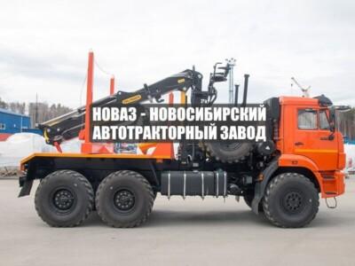 ЛЕСОВОЗ С МАНИПУЛЯТОРОМ VM10L74 КАМАЗ 43118-50