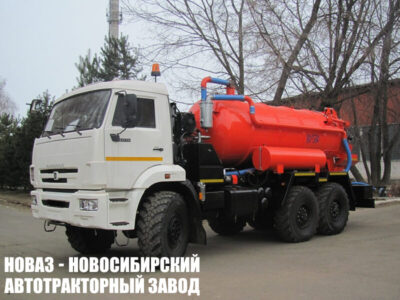 Вакуумная машина КО-530-24 на шасси КАМАЗ 43118 (ЕВРО 5) новый