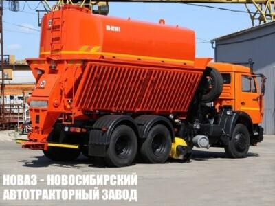 Комбинированная дорожная машина КО-829Б1 на базе КАМАЗ 65115