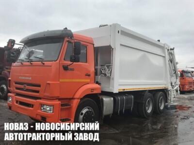 Мусоровоз с задней загрузкой МК-4546-08 на шасси КАМАЗ 65115 (ЕВРО 5) новый