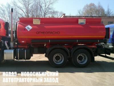 Автотопливозаправщик ФоксТанк 13 (13000 л) на шасси КАМАЗ 65115 (ЕВРО 5) новый