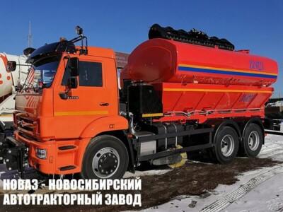 Комбинированная дорожная машина КО-823 на базе КАМАЗ 65115