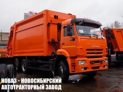 Мусоровоз с задней загрузкой МК-4549 на шасси КАМАЗ 6520 (ЕВРО 5) новый