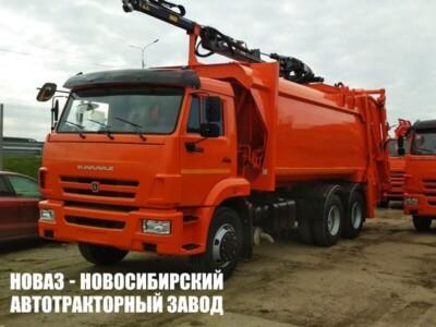 Мусоровоз с задней загрузкой МК-4547-08 на шасси КАМАЗ 65115 (ЕВРО 5) новый