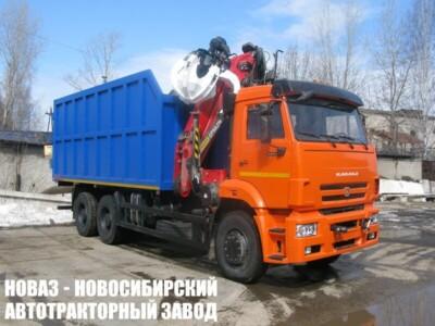Ломовоз (Металловоз) с ГМУ VM10L74M на шасси КАМАЗ 6520 (ЕВРО 5) новый