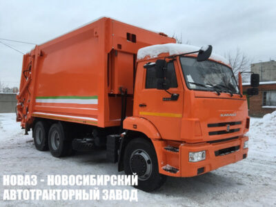Мусоровоз с задней загрузкой МК-4545-08 на шасси КАМАЗ 65115 (ЕВРО-5) новый