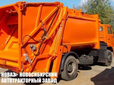 Мусоровоз с задней загрузкой МК-4543-06 на шасси КАМАЗ 53605