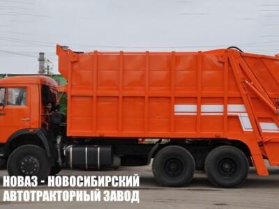 Мусоровоз с задней загрузкой МК-4542-08 на шасси КАМАЗ 65115 (ЕВРО 5) новый