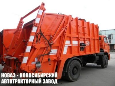 Мусоровоз с задней загрузкой МК-4542-06 на шасси КАМАЗ 53605 (ЕВРО 5) новый