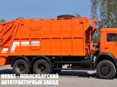 Мусоровоз с задней загрузкой МК-4541-08 на шасси КАМАЗ 65115