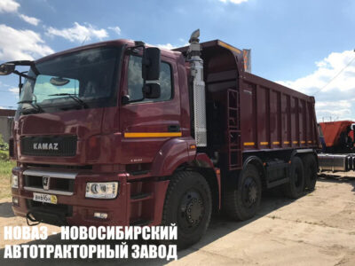 Самосвал КАМАЗ 65801-001-68 кузов НЕФАЗ (ЕВРО 5) новый