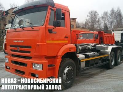 Мультилифт HyvaLift 20-57-S TITAN на шасси КАМАЗ 6520 (ЕВРО 5) новый