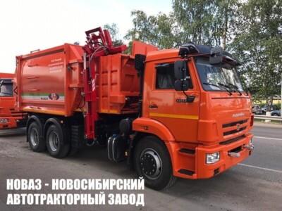 Мусоровоз с боковой загрузкой МК-4552-07 на шасси КАМАЗ 65115 (ЕВРО 5) новый