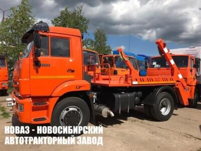 Бункеровоз МК-4512-04 на шасси КАМАЗ 43255 (ЕВРО 5) новый