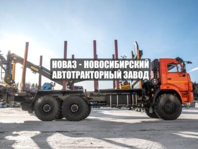 СОРТИМЕНТОВОЗ С МАНИПУЛЯТОРОМ VM10L74 КАМАЗ 43118-50