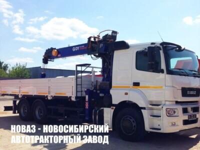 Бортовой КАМАЗ 65207 с КМУ DongYang SS1956 (ЕВРО 5) новый