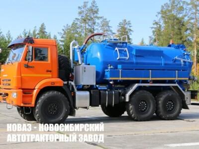 ИЛОСОСНАЯ МАШИНА МВС-10 НА ШАССИ КАМАЗ-43118-50 Е-5