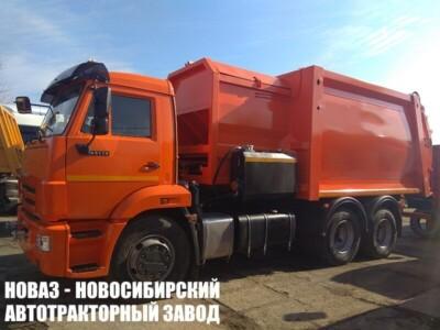 Мусоровоз с боковой загрузкой МК-4555-08 на шасси КАМАЗ 65115 (ЕВРО 5) новый