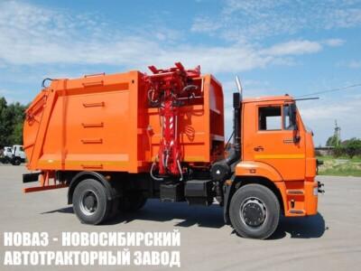 Мусоровоз с боковой загрузкой МК-4555-06 на шасси КАМАЗ 53605