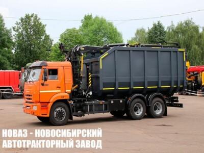 Ломовоз (металловоз) на шасси КАМАЗ 65115 с ГМУ VM10L74M  новый