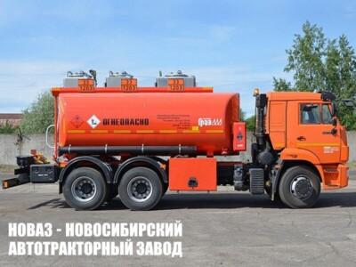Автотопливозаправщик ГРАЗ 56215-0000010-52 15000 л на шасси КАМАЗ 65115 (ЕВРО 5) новый