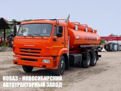 Автотопливозаправщик ФоксТанк 17 (17000 л) на шасси КАМАЗ 65115 (ЕВРО 5) новый