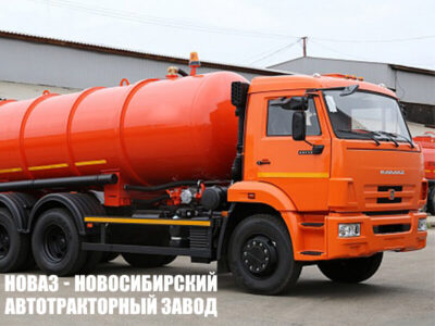 Вакуумная машина КО-505Б на шасси КАМАЗ 65115 (ЕВРО 5) новый