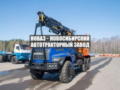 ЛЕСОВОЗ С МАНИПУЛЯТОРОМ VM10L74 УРАЛ NEXT 5557-6151-72