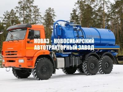 МВ-10ТЛ740 НА ШАССИ КАМАЗ-43118-23027-50 ВАКУУМНАЯ