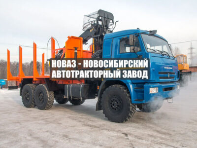 СОРТИМЕНТОВОЗ С МАНИПУЛЯТОРОМ VM10L74 КАМАЗ 43118-50 СП.М.