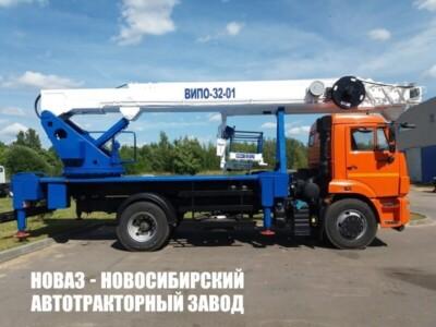 АВТОГИДРОПОДЪЕМНИК ВИПО-32-01 НА БАЗЕ КАМАЗ-43523