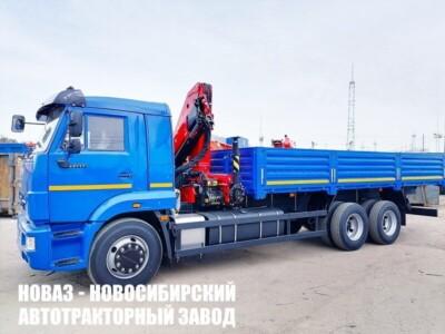 Бортовой КАМАЗ 65117 с КМУ INMAN IM 150N (ЕВРО 5) новый