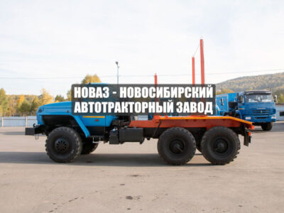 ЛЕСОВОЗ УРАЛ М 5557-60Е5