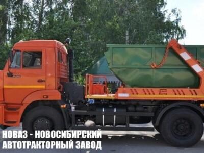 Бункеровоз МК-4512-02 на шасси КАМАЗ 43253