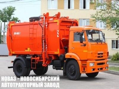 Мусоровоз с боковой загрузкой КО-440-7 на шасси КАМАЗ 43253 (ЕВРО 5) новый