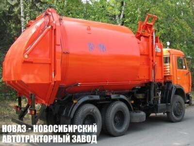 Мусоровоз с боковой загрузкой КО-449-02 на шасси КАМАЗ 65115 (ЕВРО 5) новый
