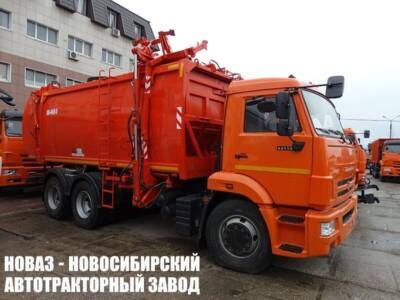 Мусоровоз с боковой разгрузкой КО-440-5 на шасси КАМАЗ 65115 (ЕВРО 5) новый