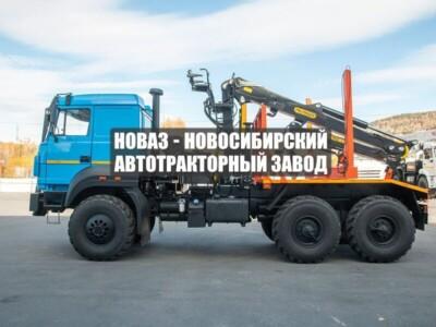 ЛЕСОВОЗ С МАНИПУЛЯТОРОМ VM10L74 УРАЛ 5557-4551-80 БЕСКАПОТ., СП.М