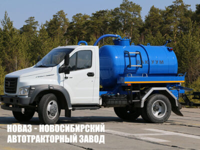 ВАКУУМНАЯ МАШИНА МВ-4 НА ШАССИ ГАЗ-С41R13