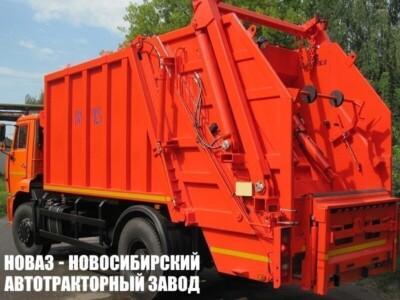 Мусоровоз с задней загрузкой КО-427-52 на шасси КАМАЗ 53605