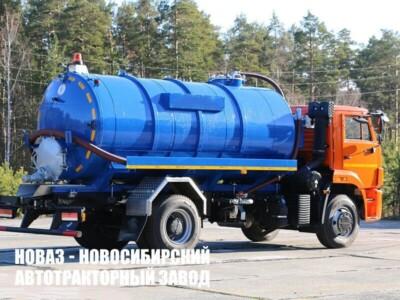 МВ-12 (ТЛ740) НА ШАССИ КАМАЗ-53605 ВАКУУМНАЯ (МОДЕЛЬ 4680D3-40)