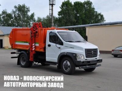 МК-1541-14 НА ШАССИ ГАЗ-C41R33 МУСОРОВОЗ (Б/К КУЗОВ)