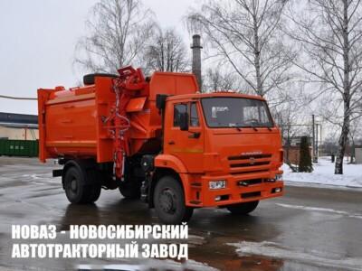 МК-4554-06 НА ШАССИ КАМАЗ-53605-773950-48 МУСОРОВОЗ (МАЯТНИК. ПЛИТА)